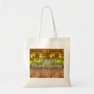 Happy Thanksgiving Canvas Bag