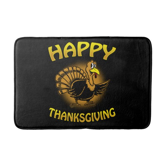 Happy Thanksgiving Bath Mat