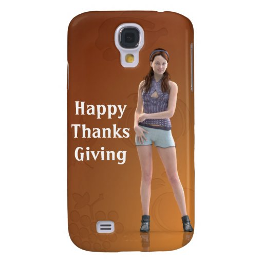 Happy Thanksgiving Bree HTC Vivid Cover
