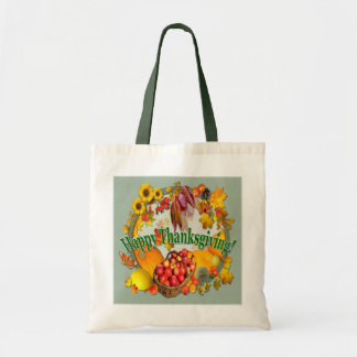 HAPPY THANKSGIVING  ~ Budget Tote Budget Tote Bag