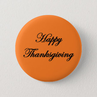"""Happy Thanksgiving"" Button"