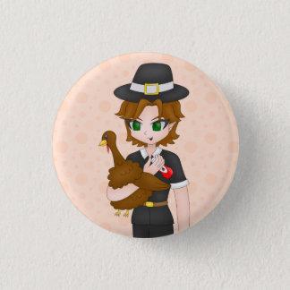 happy thanksgiving button 2