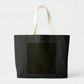 HAPPY THANKSGIVING by SHARON SHARPE Canvas Bags