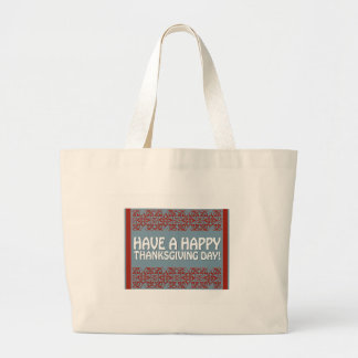 Happy Thanksgiving Canvas Bag