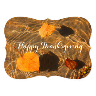 Happy Thanksgiving (Corporate) Card by RoseWrites 13 Cm X 18 Cm Invitation Card