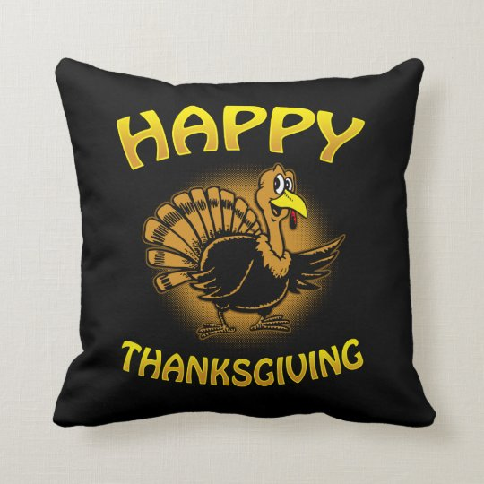 Happy Thanksgiving Cushion