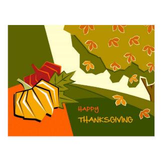 Happy Thanksgiving Customizable Postcards