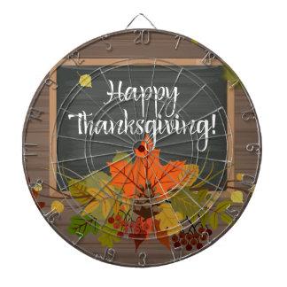 happy thanksgiving dartboard