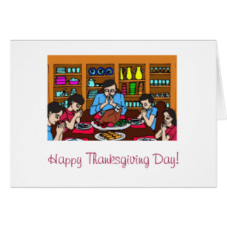 Happy Thanksgiving Day! Greeting Card