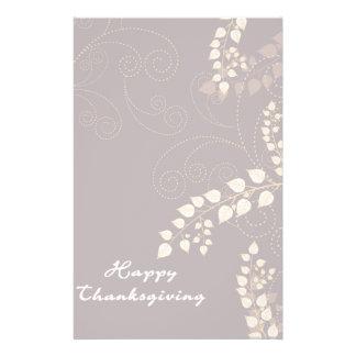 Happy Thanksgiving Day Custom Stationery