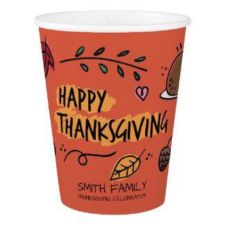 Happy Thanksgiving Day. Family Celebration.