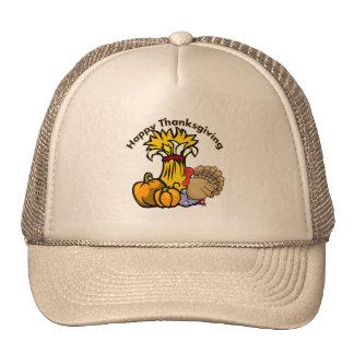 Happy Thanksgiving Day Mesh Hats