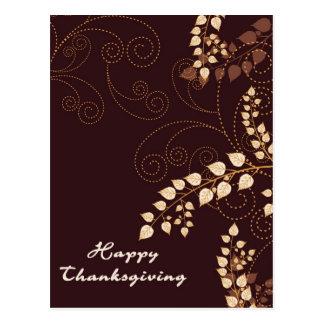 Happy Thanksgiving Day Postcard