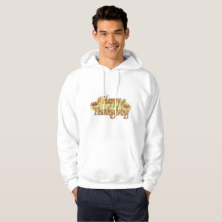 Happy Thanksgiving Fall Leaves Hoodie