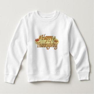 Happy Thanksgiving Fall Leaves Sweatshirt
