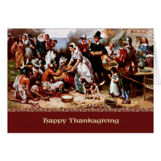Happy Thanksgiving. Fine Art Greeting Cards