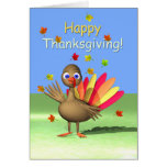 Happy Thanksgiving for Kids - Baby Turkey