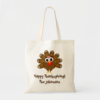 Happy Thanksgiving funny turkey cartoon custom