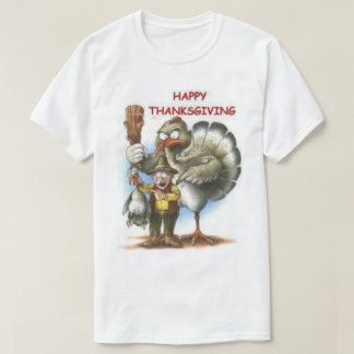 Happy Thanksgiving Guess Who T-Shirt