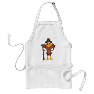 Happy Thanksgiving Holiday Turkey Aprons