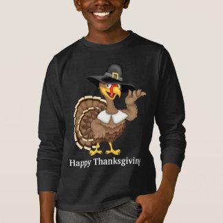 Happy Thanksgiving Holiday turkey t-shirt