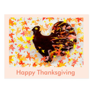 Happy Thanksgiving - jjhelene design- Post Card