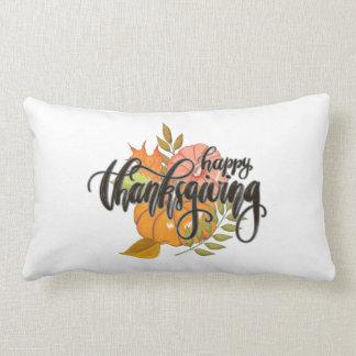 Happy Thanksgiving Lumbar Cushion