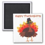 Happy  Thanksgiving - Magnet