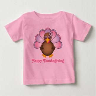 Happy Thanksgiving Mrs. Turkey T Shirts