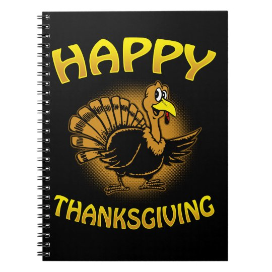 Happy Thanksgiving Notebook