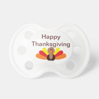 """""""Happy Thanksgiving"""" Pacifier"""