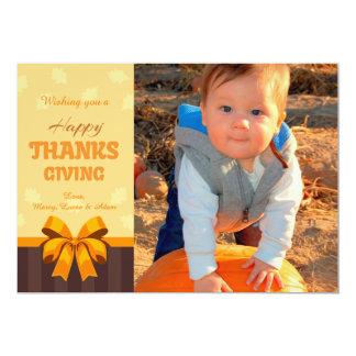 Happy Thanksgiving Photo Card