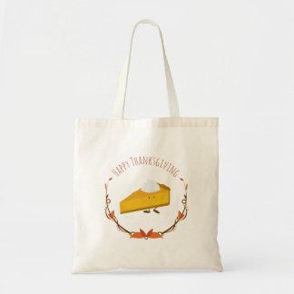 Happy Thanksgiving Pie Slice | Basic Tote