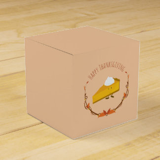 Happy Thanksgiving Pie Slice | Favor Box