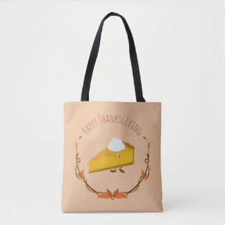 Happy Thanksgiving Pie Slice | Tote Bag