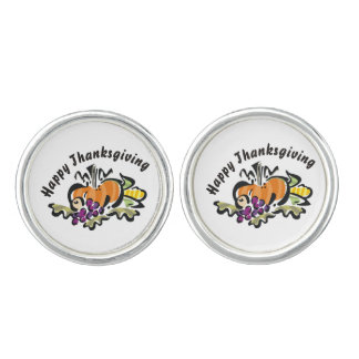 Happy Thanksgiving Cufflinks