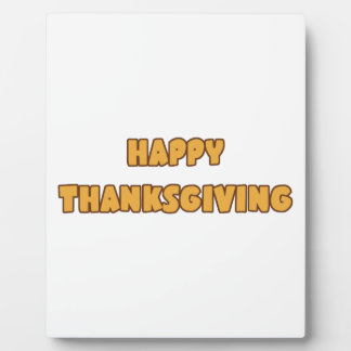 Happy Thanksgiving Plaque