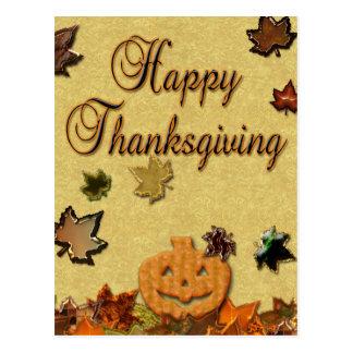 Happy Thanksgiving - Postcard