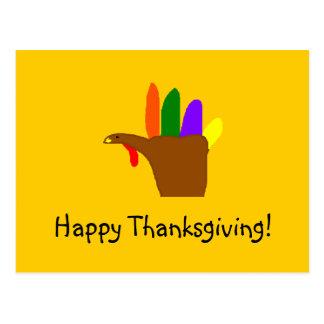 Happy Thanksgiving! - postcard