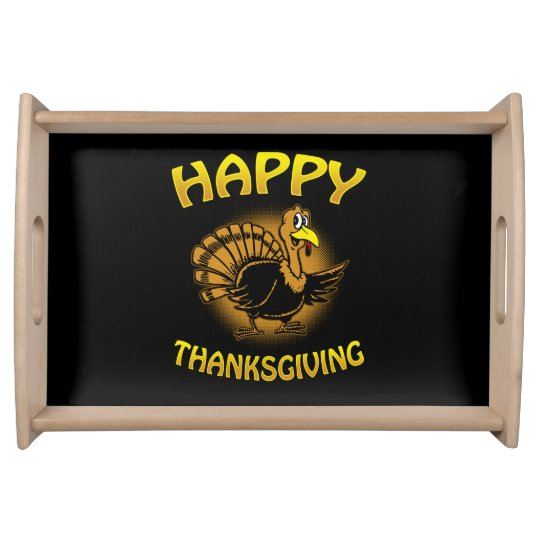 Happy Thanksgiving Serving Tray