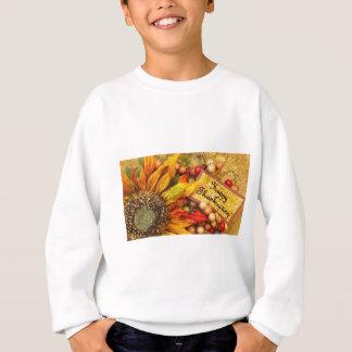 Happy Thanksgiving Sunflower Sweatshirt