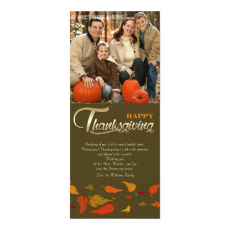 Happy Thanksgiving. Thanksgiving Photo Cards