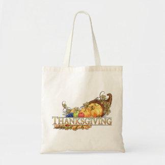 Happy Thanksgiving - Budget Tote Bag