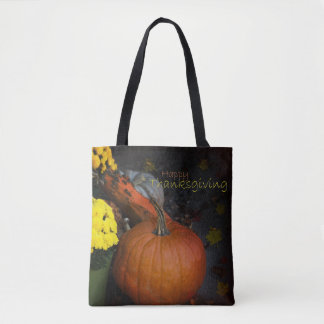 Happy Thanksgiving - tote bags