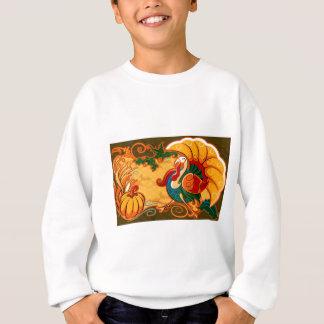 Happy Thanksgiving Turkey Pumpkin Sweatshirt