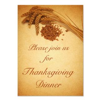Happy Thanksgiving Wheat - Invitation