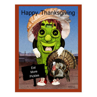 Happy Thanksgiving With Dolly Dill Postcards