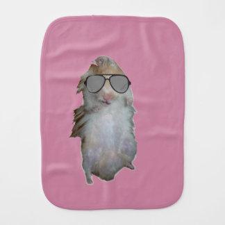 Happy The Hamster Burp Cloth