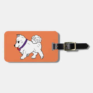 Happy the Sammy Luggage Tag