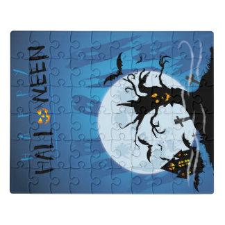 Happy they halloween jigsaw puzzle